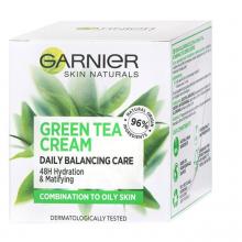 آبرسان و مات کننده چای سبز گارنیر مناسب پوست مختلط تا چرب