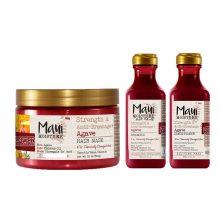 پک محصولات آگاوه مائویی مخصوص موهای آسیب دیده و دکلره شده|شامپو،نرم کننده،ماسک مو