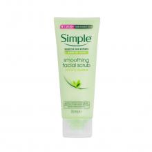 اسکراب نرم کننده پوست سیمپل مناسب انواع پوست حتی پوست های حساس
