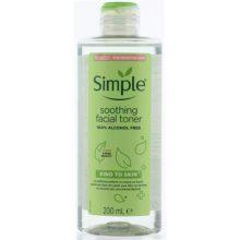 تونر تسکین دهنده سیمپل مناسب انواع پوست حتی پوست های حساس