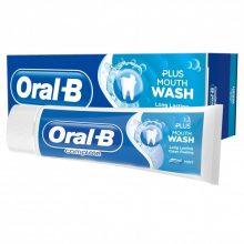 خمیر دندان تمیز کننده اورال بی مدل plus mouth wash