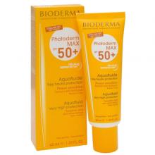 ضد آفتاب بی رنگ بایودرما مدل آکوآ فلوید spf +50