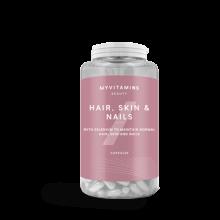 کپسول تقویت پوست مو ناخن برند مای ویتامینز ۶۰ عددی