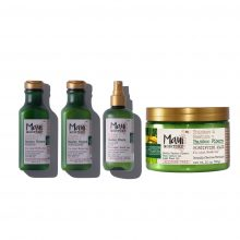 پک محصولات بامبو مائویی (شامپو، ماسک مو، نرم کننده و اسپری مو)