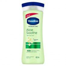 لوسیون بدن آلوورا وازلین vaseline aloe smooth body lotion